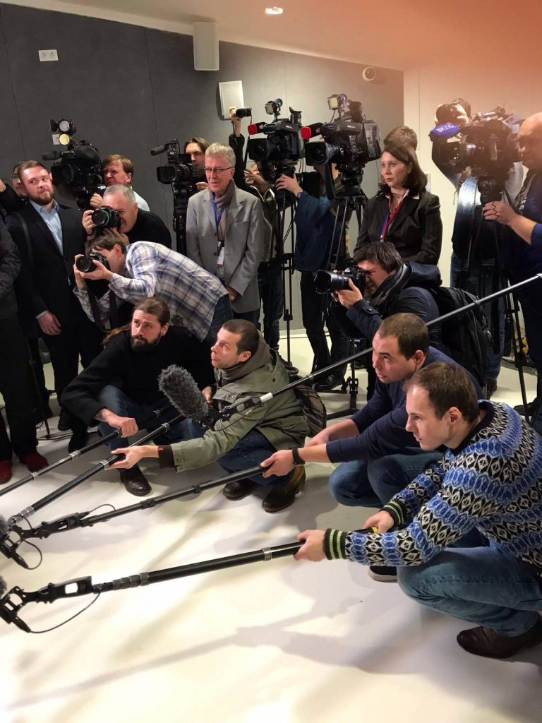 Stampa internazionale, Mosca, Russia, Pietro Laureano intervista