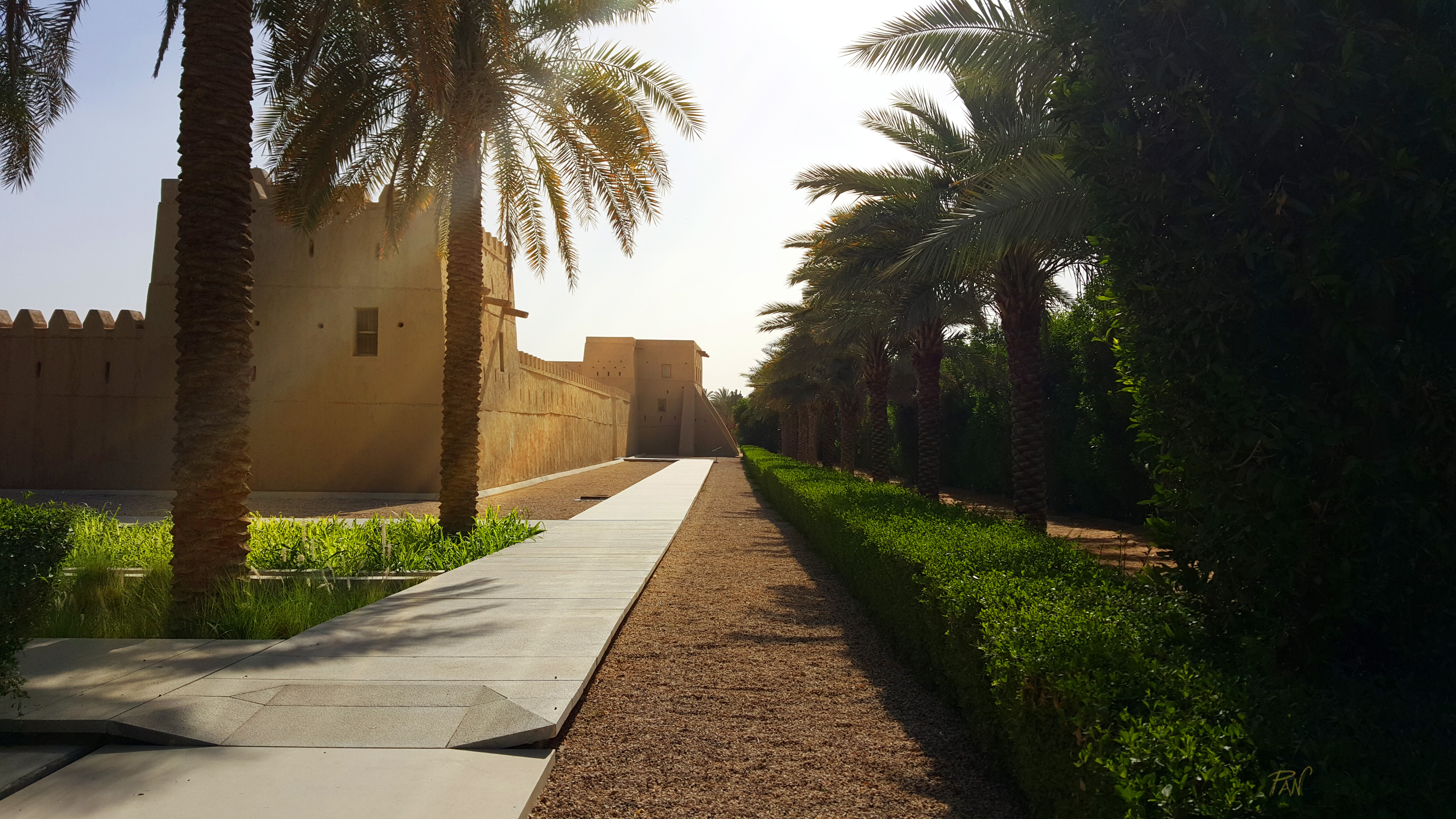 Qasr al Muwaiji, landscape, Al Ain, Emirati Arabi, ph. PaN