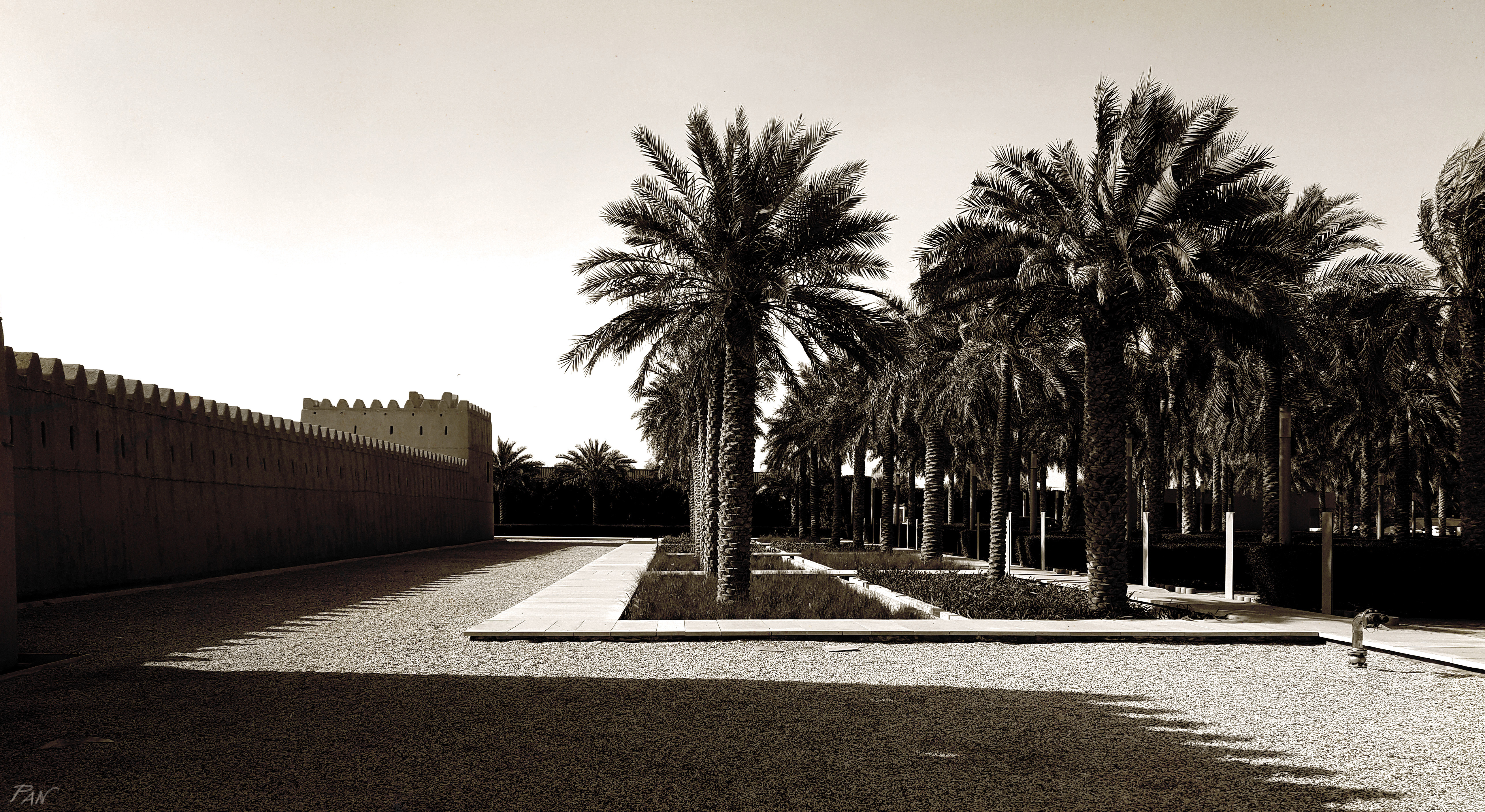 Qasr al Muwaiji, landscape, landscaping, Al Ain, Emirati Arabi, ph. PaN